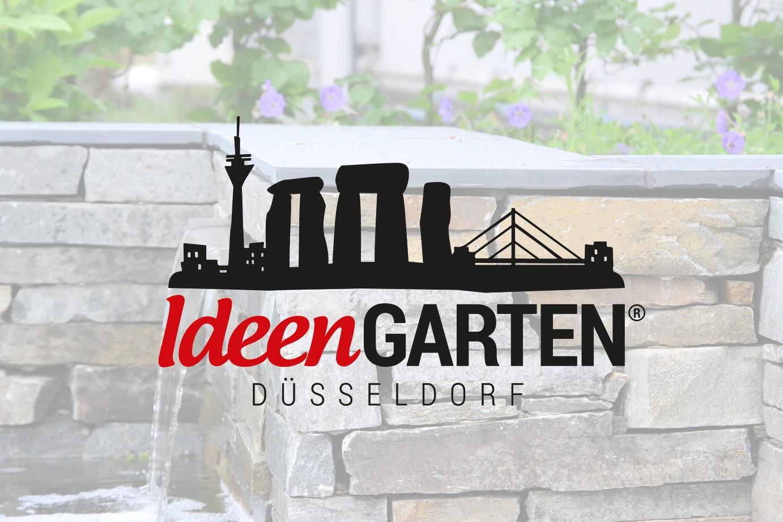 IdeenGarten Düsseldorf - Garten aus Naturstein live erleben