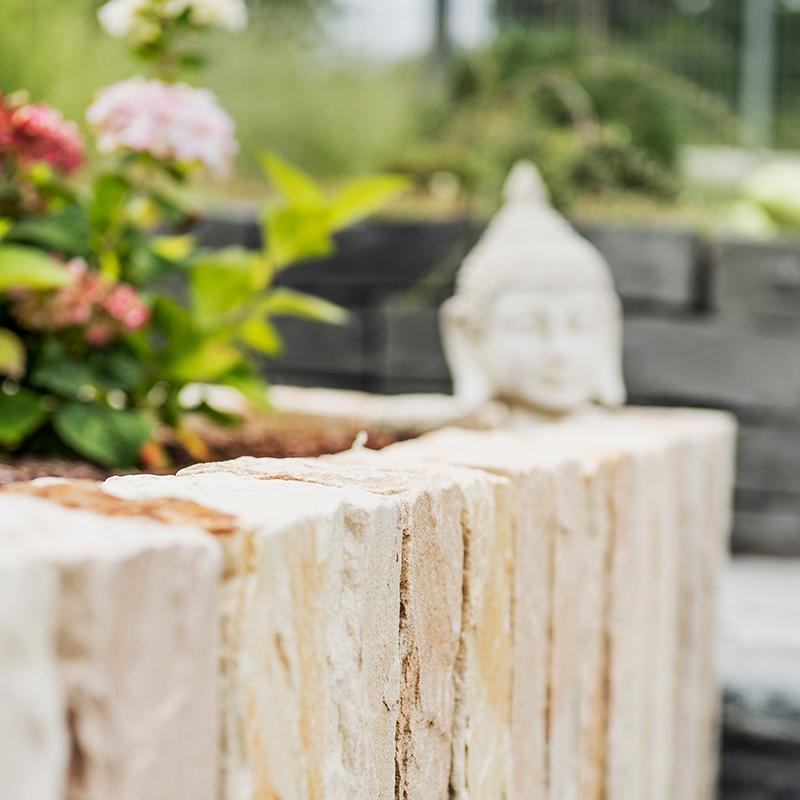 Gartengestaltung mit Naturstein - IdeenGarten Düsseldorf & Osnabrück
